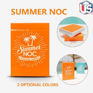 Baralho  NOC Summer Orange  Cardistry  Magico Poker