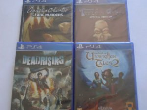 Tower of Guns - Book of Unwritten Tales 2-  Dead Rising -  Abc Murders  PS4 - FRETE GRATIS