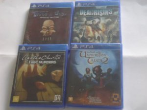 Y - Jogo PS4 - Tower of Guns - Book of Unwritten Tales 2-  Dead Rising -  Abc Murders  PS4 - $ 36,80 CADA -