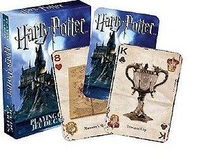 2A -  Baralho Harry Potter Modelo 01 Símbolos Hogwarts
