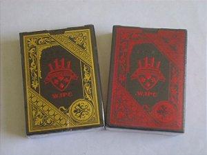 2A -  Baralhos Preto  Dourado  OU  Preto Vermelho Pvc Poker Magica 55 Cartas - $57,80 cada