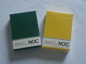 Baralho  NOC  Verde Ou Amarelo  -  Poker Cardistry  Marcado  $46,80 cada