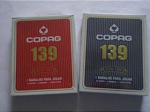 Baralho Copag 139  Vermelho OU Azul - 55 Cartas