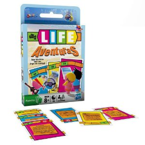 1A - Jogo de Cartas The Game of Life -  Aventuras - Hasbro
