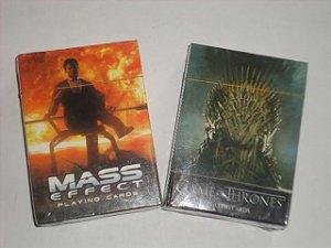 1B - Baralho Games of Thrones  OU  Mass Effect  $ 48,80 Cada