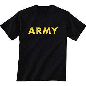 CAMISA ARMY (PRETA)