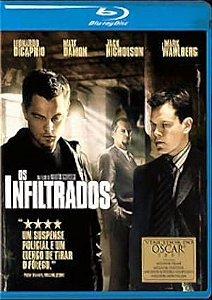 Blu - Ray - Os Infiltrados