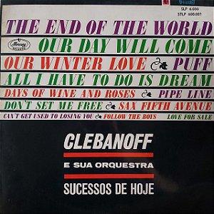 LP - Clebanoff e sua Orquestra - Sucesso de hoje