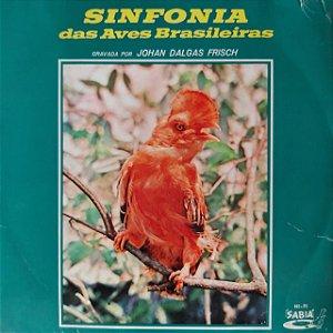 LP - Johan Dalgas Frisch – Sinfonia Das Aves Brasileiras