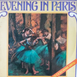 LP - Delibes & Offenbach - Evening In Paris