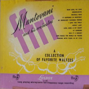 LP - Mantovani And His Orchestra – A Collection Of Favorite Waltzes (Importado Us)