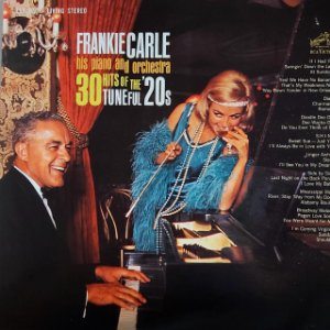 LP - Frankie Carle His Piano And Orchestra – 30 Hits Of The Tuneful '20s (Importado US)