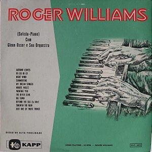 LP - Roger Williams - (Solista piano) Com Glenn Osser e sua orquestra
