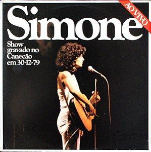 LP - Simone – Simone Ao Vivo (Show Gravado no Canecão em 30-12-79)