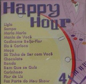 CD - A Arte do Som - Happy Hour 4 (Vários Artistas)
