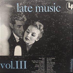 LP - Late Music Volume III (Vários Artistas) (Importado US)