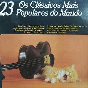 LP - Os Clássicos Mais Populares do Mundo (Vários Artistas)