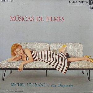 LP - MIchel Legrand e sua Orquestra - Música de Filmes