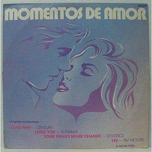 LP - Momentos de Amor (Vários Artistas)
