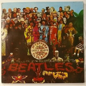 LP - The Beatles – Sgt. Peppers Lonely Hearts Club Band (1967)