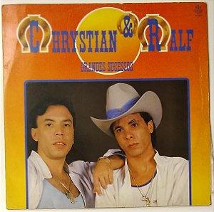 LP - Chrystian & Ralf - Grandes Sucessos