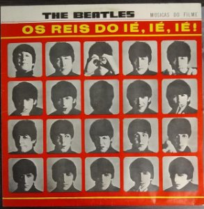 LP - The Beatles – A Hard Day's Night (1974)