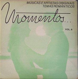 LP - Momentos...Vol.4 (Vários Artistas)