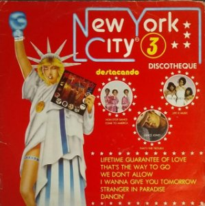 LP - New York City Discotheque 3 (Vários Artistas)
