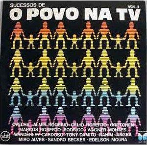 LP - O Povo Na TV Vol.2 (Vários Artistas)