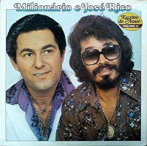LP - Milionário & José Rico - Escravo Do Amor - Vol.11