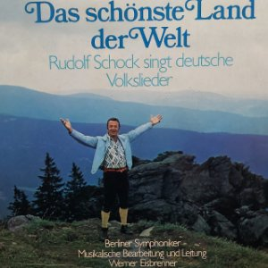 LP - Rudolf Schock – Das Schönste Land Der Welt (importado Alemanha)