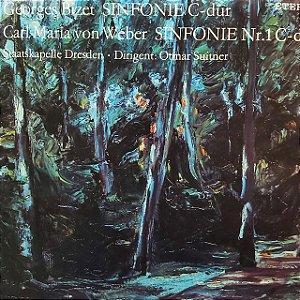 LP - Georges Bizet - Sinfonie C-dur / Sinfonie Nr.1 C-dur (Vários Artistas) (importado Alemanha)