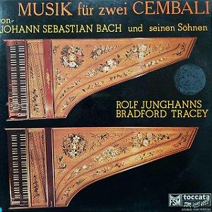 LP - Rolf Junghanns, Bradford Tracey – Musik Für Zwei Cembali (Von Johann Sebastian Bach Und Seinen Söhnen) (Importado Alemanha)