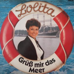 LP - Lolita - Gruss Mir Das Meer  (Importado Alemanha)