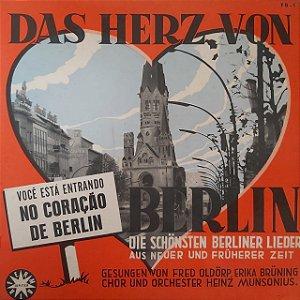 LP - Erika Brüning, Fred Oldörp, Chor Und Orchester Heinz Munsonius – Das Herz Von Berlin (Importado Alemanha)