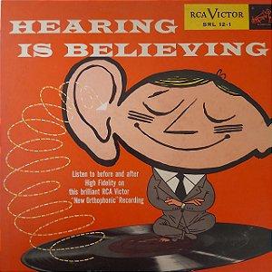LP - Hearing Is Believing (Vários Artistas) (Importado US)