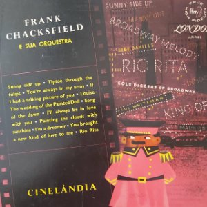 LP - Frank Chacksfield e Sua Orquestra - Cinelândia