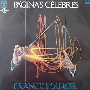 LP - Franck Pourcel e Sua Gran Orquesta – Paginas Célebres (Importado Espanha)