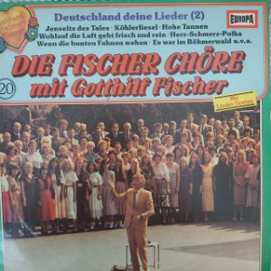 LP - Fischer Chöre – Deutschland Deine Lieder 2 (Importado Alemanha)