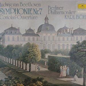 LP - Karl Bohm - Berliner Philharmoniker  - Symphony n°7 (Importado Alemanha)