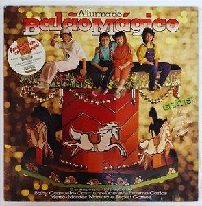 LP - A Turma Do Balão Mágico (Barato bom é da barata) (1985)