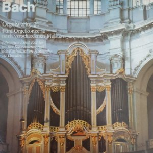LP - Bach - Johannes-Ernst Köhler - Orgelwerke 21