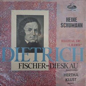 LP - Dietrich Fischer Dieskau - Recital de Lieder
