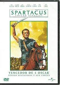 DVD - Spartacus Edição Especial