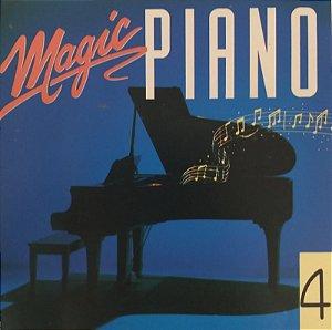 CD - Magic Piano - Vol.4 (Vários Artistas)