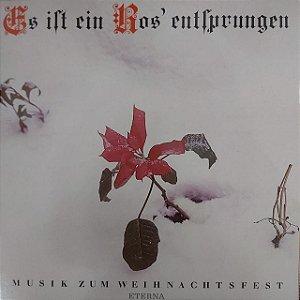 LP - Es Ist Ein Ros' Entsprungen (Vários Artistas) (Importado GDR)