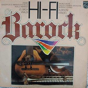 LP - Hi-Fi Barock (Vários Artistas) (Importado Alemanha)