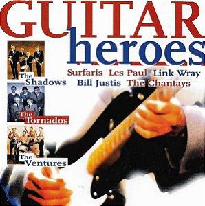 CD - Guitar Heroes (Vários Artistas) - Importado