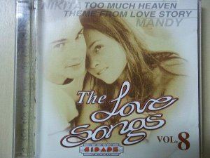 CD - The Love Songs - Volume 08 (Vários Artistas)