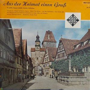 LP - Aus Der Heimat Einen Gruß - (Vários artistas) (Importado Alemanha)